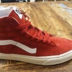 Vans Sk8hi pig suede red, 90, size 39,40,41.42 1/2, 44, 44 1/2