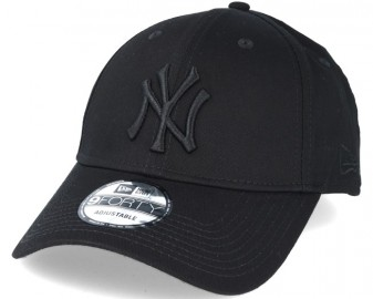 new-york-yankees-mlb-league-ess-black-9forty-adjustable-new-era