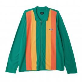 Obey Jinx Zip Polo Green €65,-