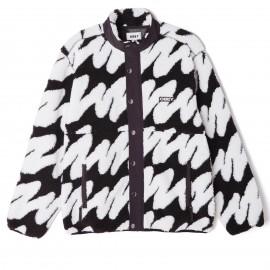 Obey Henne sherpa jacket l white, €175,- SALE €139,- size S,L