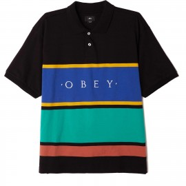 Obey pledge polo € 65,-SALE ¥49,-  size S, M, L