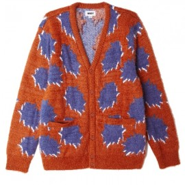 Obey crackle cardigan, €100,- last size M