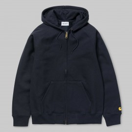 Carhartt Chase Hooded Jacket dark navy €85,- SALE €49,-last size M