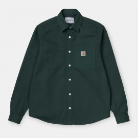 Carhartt Toy Shirt dark teal €79,- M,L
