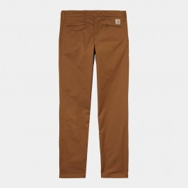 Carhartt sid-pant-hamilto-brown-rinsed €89,- size 30/32, 31.32, 32/34, 33/32, 33/34, 34/32, 34/34, 34/36, 36/32, 36/36,