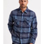 Brixton bowery shirt 60% cotton / 40% recyceld poly / acryl