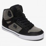 DC pure high top black dark used, € 90,-