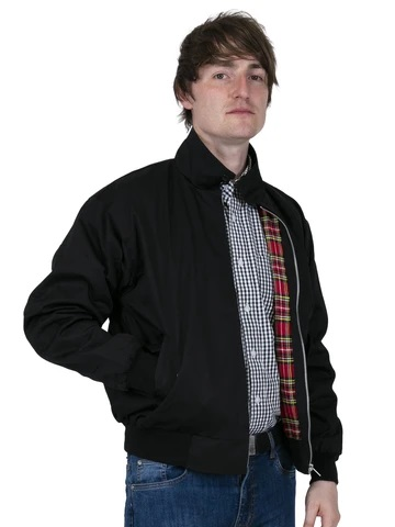 Relco-London-HARRINGTON_BLACK €50,-M, L, XL, XXL