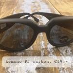 Komono PJ carbon €59,-