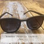 Komono francis carbon €49,-
