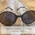Komono madison black silver €69,--