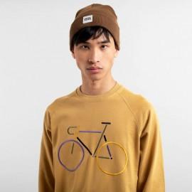 Dedicated sweatshirt Malmoe Color bike beige, 79,-