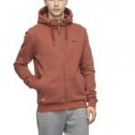 Ragwear-Nate-zip-terracotta-€70,- size M, L, XL, XXL