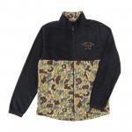 Dark-Seas-polar-fleece-mock-jacket € 119,- SALE €79,- zize M< L, XL, XXL