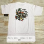dark seas sparrow tee, €35,-