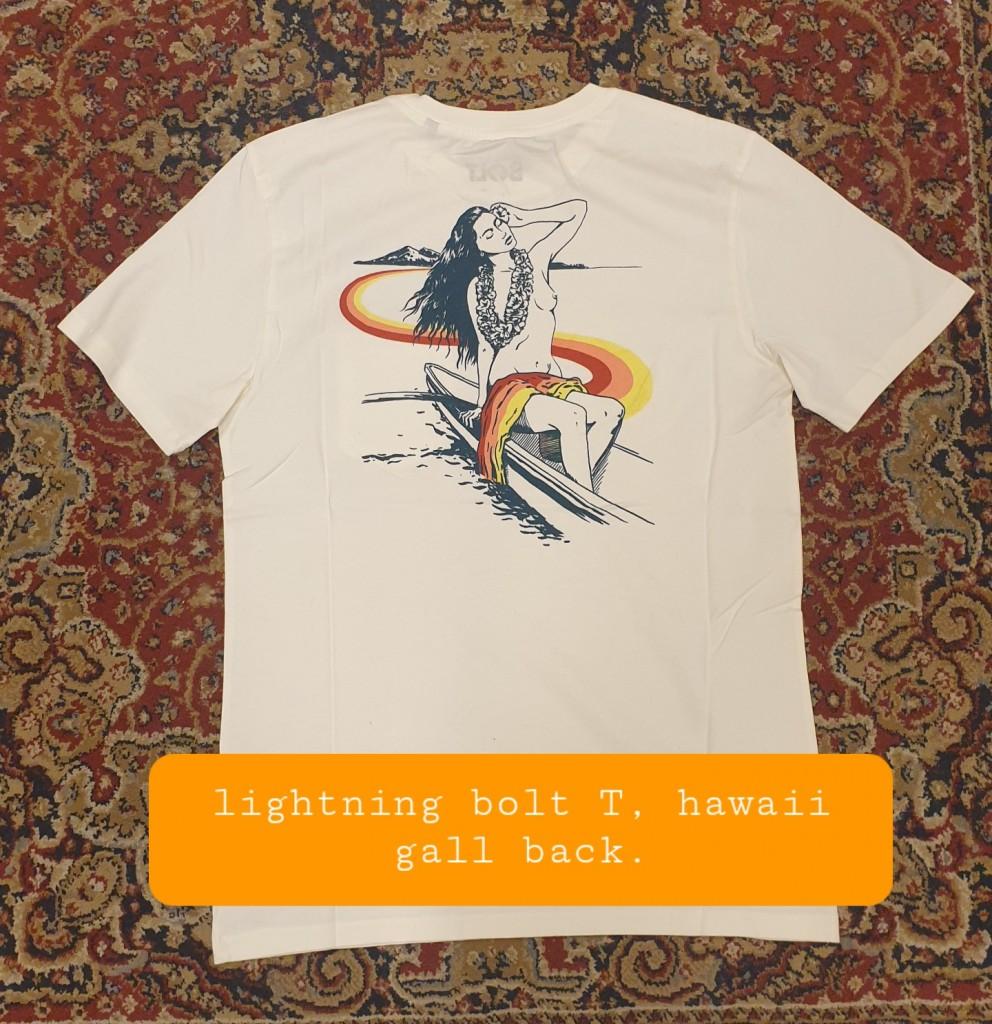 Lightning-bolt-T-Hawaii-gall- ack €38- sizeS, M, L, XL