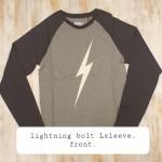 Lightning-bolt-T-Lsleeve-€40-. size M.L.XL