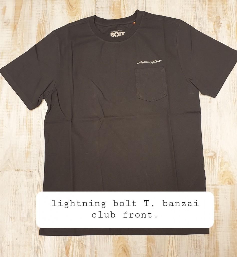 Lightning-bolt-T-banzai-club-front-€38- size M, L, XXL