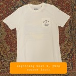 Lightning-bolt-T-pure-source-frot-€38-. size S,M, L, XL